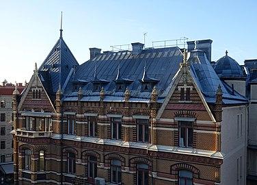 Rooftop of Storgatan 20 west Gothenburg.jpg