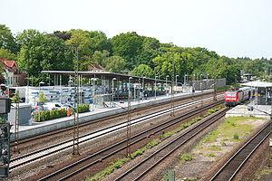 Rotenburg railway station - Rotenburg railway station
