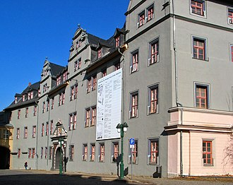 Dorothea Susanne of Simmern - The Red Castle in Weimar, built in 1574-1576 as a widow seat for Dorothea Susanne