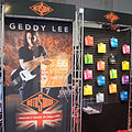 RotoSound booth - Geddy was at the NAMM show (sort of) - 2014 NAMM Show.jpg
