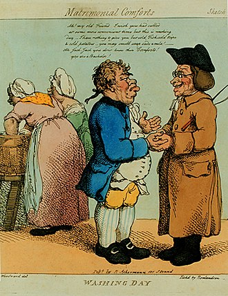 Thomas Rowlandson - Image: Rowlandson Washing Day