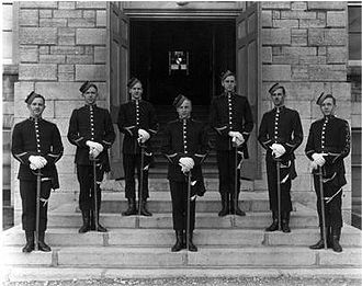 Cadet - Royal Military College of Canada cadets c 1880s