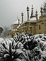 Royal Pavilion in snow - geograph.org.uk - 1596974.jpg