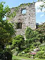 Ruins of the Great Keep, Usk Castle - geograph.org.uk - 1425974.jpg