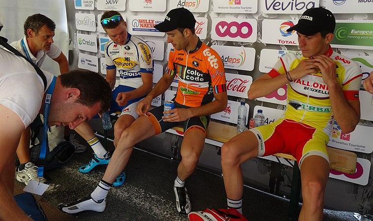 Rumillies (Tournai) - Tour de Wallonie, étape 1, 26 juillet 2014, arrivée (B40).JPG
