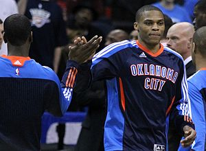 Russell Westbrook - Westbrook in March 2011