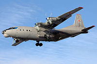 Russian Air Force Antonov An-12BK Dvurekov-5.jpg