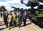Russian Defence Minister visited tank division Revolutionary Armed Forces of Cuba and laid a wreath to the Soviet soldiers-internationalists memorial 08.jpg