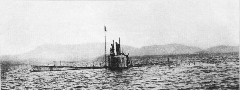 الحرب ال - الحرب العالميه الاولى 800px-Russian_submarine_Kasatka
