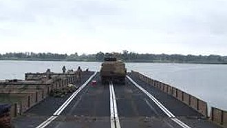 South African Army Engineer Formation - SANDF Pontoon Bridge