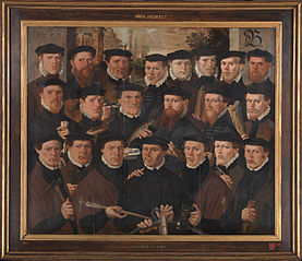 Officers of Rot B in 1559