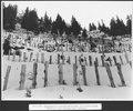 SBB Historic - F 115 00004 061 - Calcestri Airolo - Piotta, Pfahlreihen und Schutzwände im Schnee.tiff
