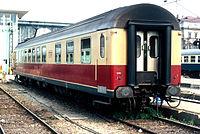 ... スイス国鉄の食堂車WRm 51 85 88-70