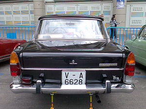 SEAT 1500 - SEAT 1500 (rear view)