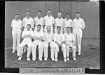 SLNSW 10635 Don Bradman in middle front row of the BardsleyGregory cricket team.jpg