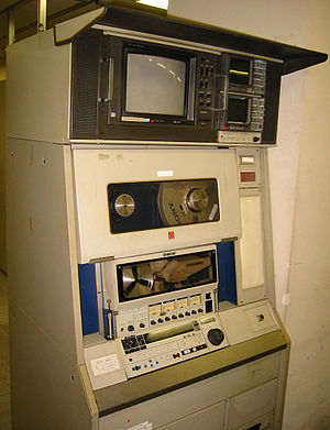 Type C videotape - Sony BVH-2000 1 inch VTR