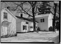SOUTH SIDE, FROM THE SOUTHWEST - Daniels House, State Route 1, Milton, Wayne County, IN HABS IND,89-MILT.V,2-6.tif