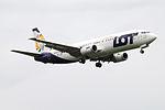 SP-LLE Boeing 737-400 LOT (14706130414).jpg