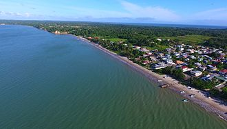 Gulf of Paria - Cedros Bay, with the Columbus Channel in the background