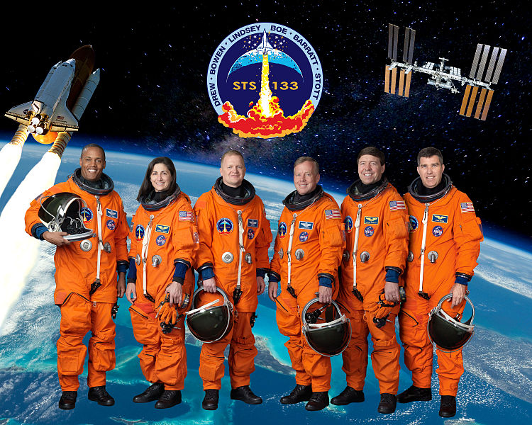 STS-133 Official Crew Photo