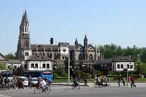 Roman Catholic Archdiocese of Jinan -  Sacred Heart Cathedral Jinan (in 2005)