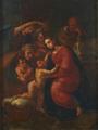 Sagrada Família, Santa Isabel, São João Baptista menino e dois anjos - Domingos Sequeira.png