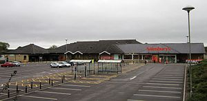 Sainsbury's - Sainsbury's in Bradford on Avon, Wiltshire