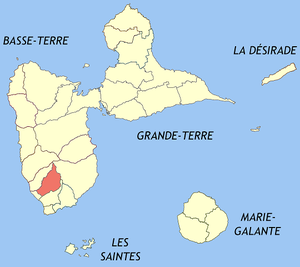 Saint-Claude, Guadeloupe - Image: Saint Claude