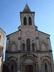 The church of Saint-Georges-d'Orques