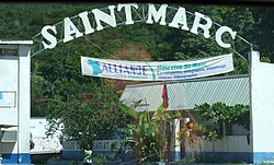 Saint-Marc Welcome Sign at Frecyneau
