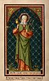 Saint Paula. Colour lithograph. Wellcome V0032786.jpg