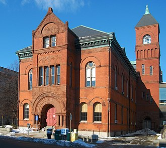 Holman K. Wheeler - County Courthouse, Salem, 1891.