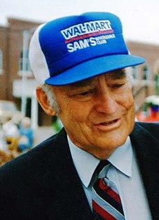 Sam Walton American businessman (1918–1992)