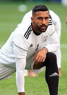 Swedish-born Iranian footballer