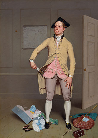 Samuel Foote - Jerry Sneak in 'The Mayor of Garratt' (Samuel De Wilde)