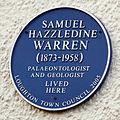 Samuel Warren blue plaque, Loughton.jpg