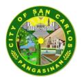 San Carlos City, Pangasinan new logo.png