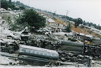 San Bernardino train disaster - Locomotives