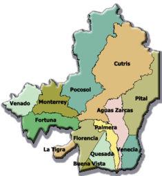 kart over ciudad quesada San Carlos (Costa Rica) – Wikipedia kart over ciudad quesada