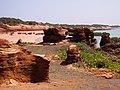 Sand beaches of northern Roebuck Bay, Broome, Western Australia.jpg