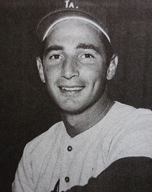 Major League Baseball All-Century Team - Hall of Famer Sandy Koufax
