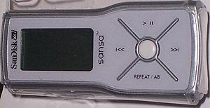 SanDisk Sansa - The Sansa m200 series (m240, Gray)