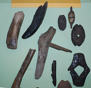 History of Latvia - Neolithic bone tools
