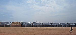 Ramalinga Swamigal - Heaps of grain bags at Sathya gnana sabha, Vadalur - established by Rāmalinga adigal