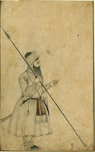 Army of the Mughal Empire - Sawar Khan, one of the Royal Guards of the Emperor Shah Jahan