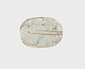 Scarab Inscribed with the Sobek Crocodile and a Fish MET 11.215.16 bottom.jpg