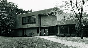 Concordia College (New York) - Scheele Library 1974