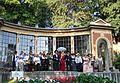 Schio, Giardino Jacquard - serra durante la rievocazione storica.jpg