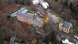 Schleiden - Schleiden castle aerial view