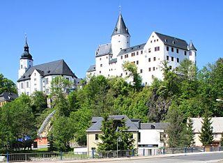 Schwarzenberg, Saxony Place in Saxony, Germany